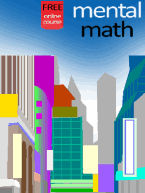 Free mental math lessons and exercises