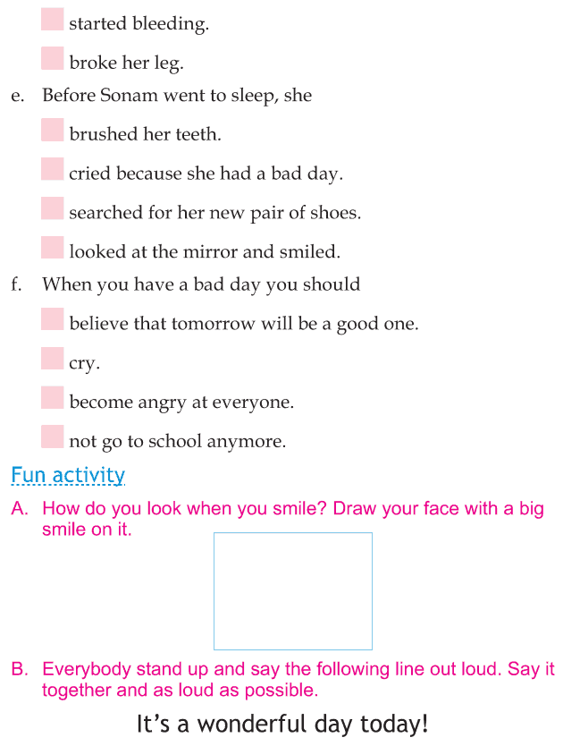 Personality development course grade 1 lesson 12 When things go wrong (6)