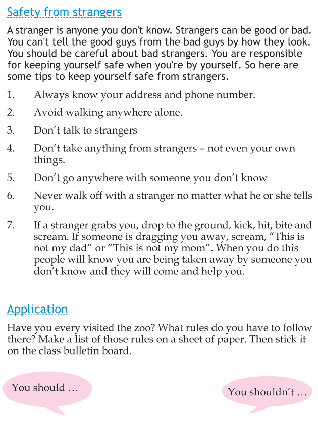 Personality development course grade 1 lesson 20 Rules to follow (4)