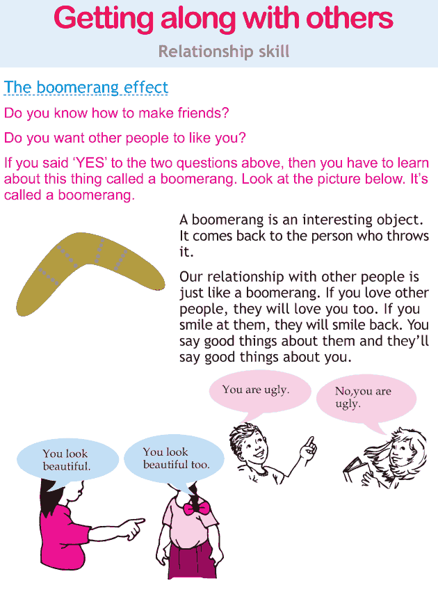 Personality development course grade 2 lesson 11 Getting along with others (1)