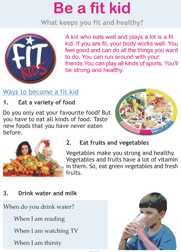 Personality development course grade 2 lesson 17 Be a fit kid (1)