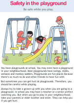 Safety in the playground