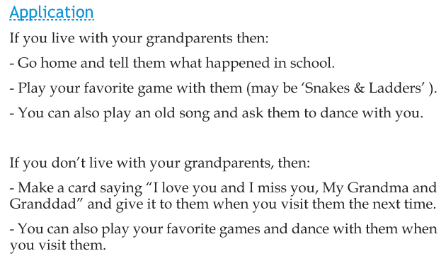 Personality development course grade 2 lesson 7 Granny's dance (4)