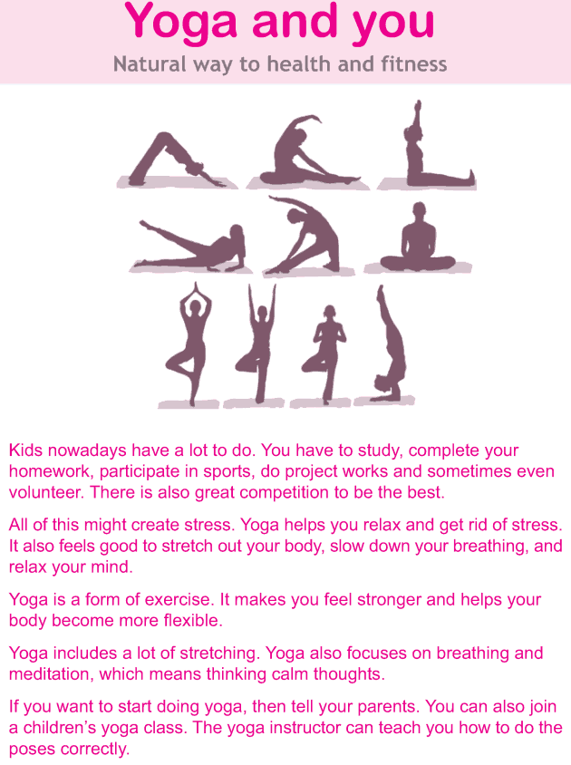 Personality development course grade 4 lesson 12 Yoga and you (1)