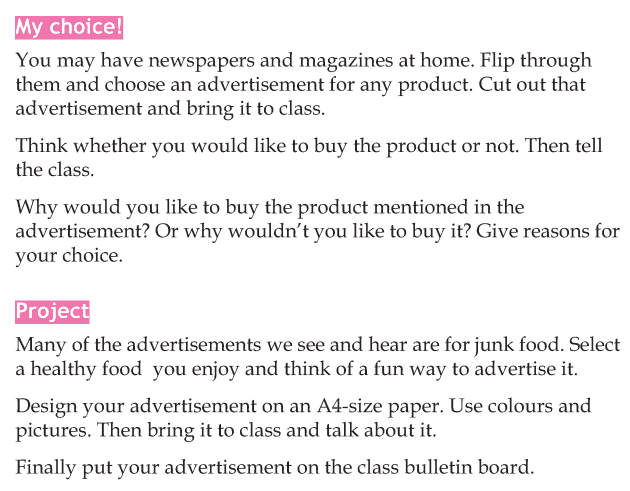 Personality development course grade 4 lesson 4 Beware of advertisements (6)