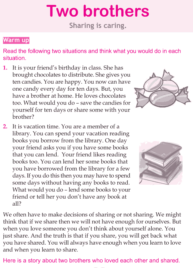 Personality development course grade 5 lesson 10 Two brothers (1)