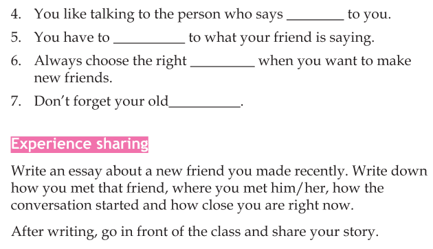 Personality development course grade 5 lesson 13 Making new friends (4)