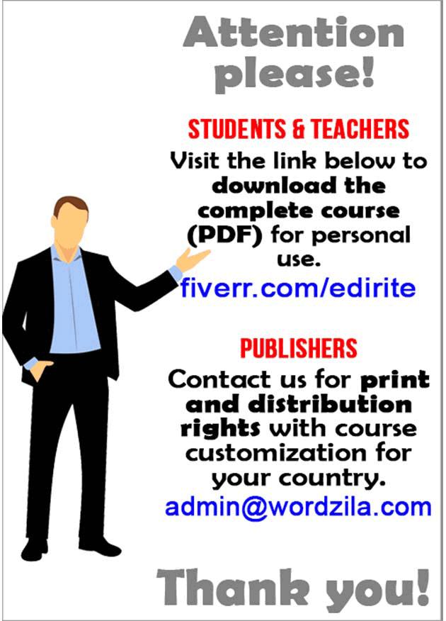 Personality development course grade 5 lesson 15 Roberts Garden (2)