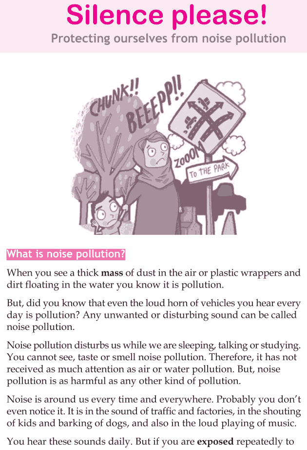 Personality development course grade 5 lesson 18 Silence please (1)