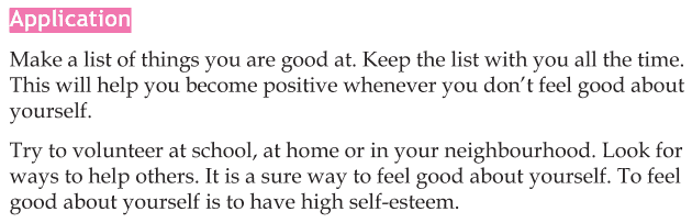 Personality development course grade 5 lesson 5 Self esteem (5)