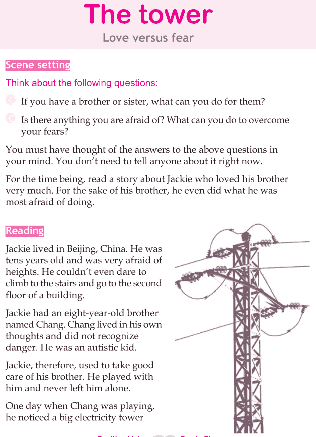 Personality development course grade 5 lesson 7 The tower (1)
