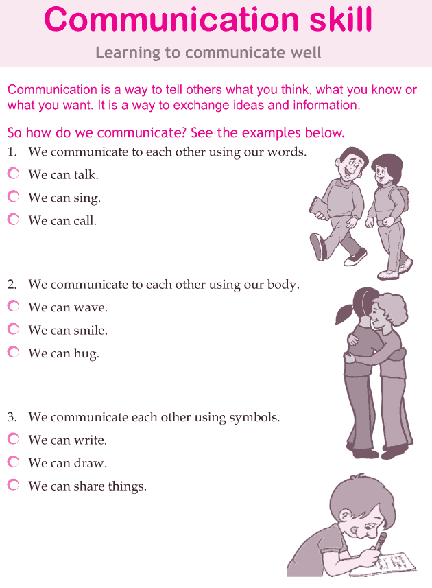 Personality development course grade 5 lesson 8 Communication skill (1)