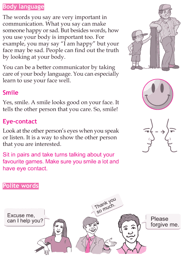 Personality development course grade 5 lesson 8 Communication skill (5)