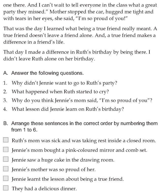 Personality development course grade 6 lesson 10 Being a true friend (4)