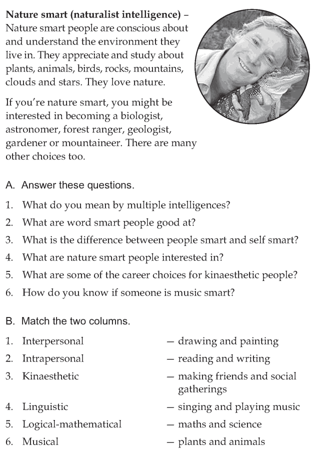 Personality development course grade 6 lesson 13 Multiple intelligences (10)