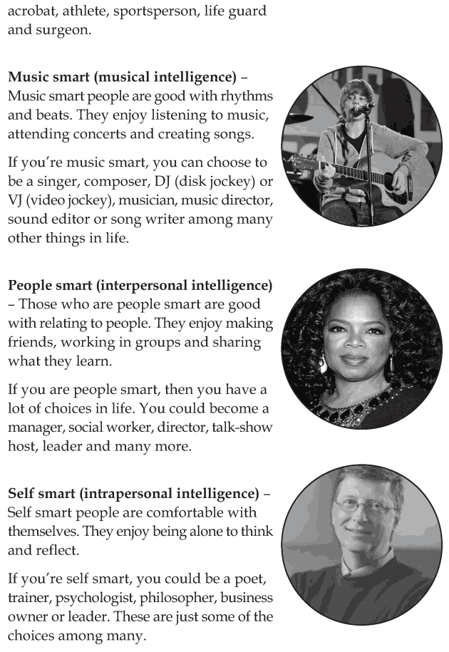 Personality development course grade 6 lesson 13 Multiple intelligences (9)