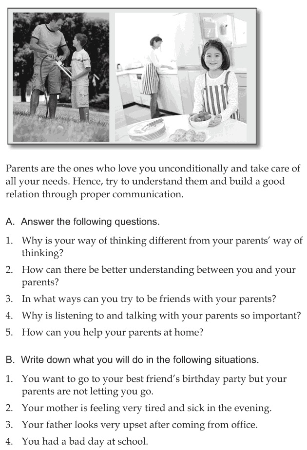 Personality development course grade 6 lesson 3 Communicating with parents (6)