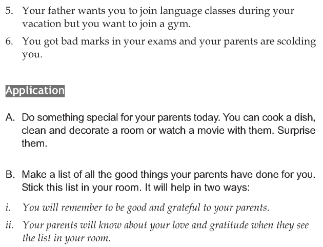 Personality development course grade 6 lesson 3 Communicating with parents (7)