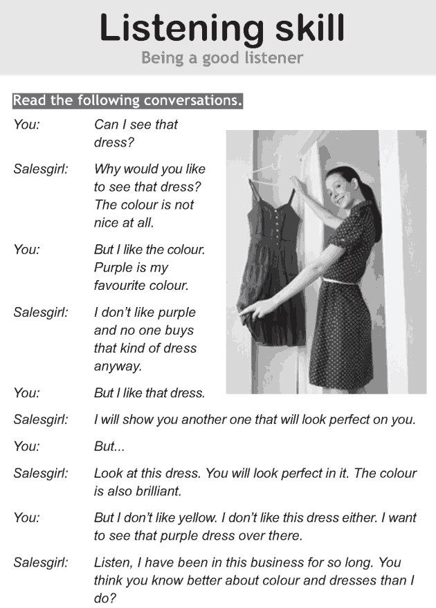 Personality development course grade 6 lesson 4 Listening skills (1)