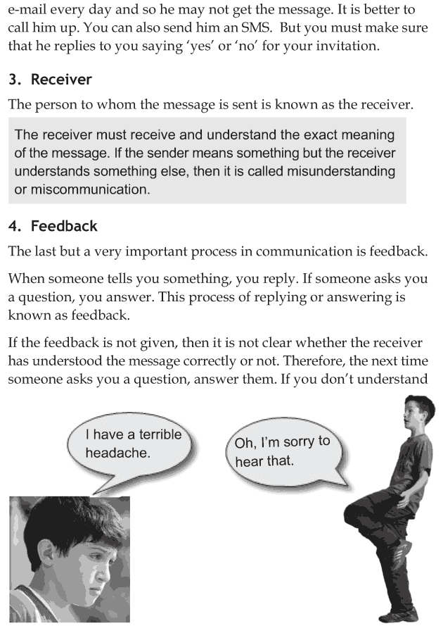 Personality development course grade 6 lesson 6 Effective communication process (4)