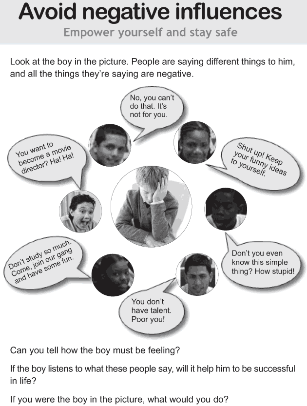 Personality development course grade 7 lesson 1 Avoid negative influences (1)