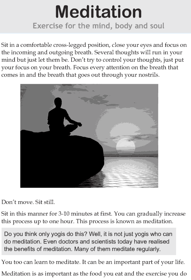 Personality development course grade 7 lesson 10 Meditation (1)