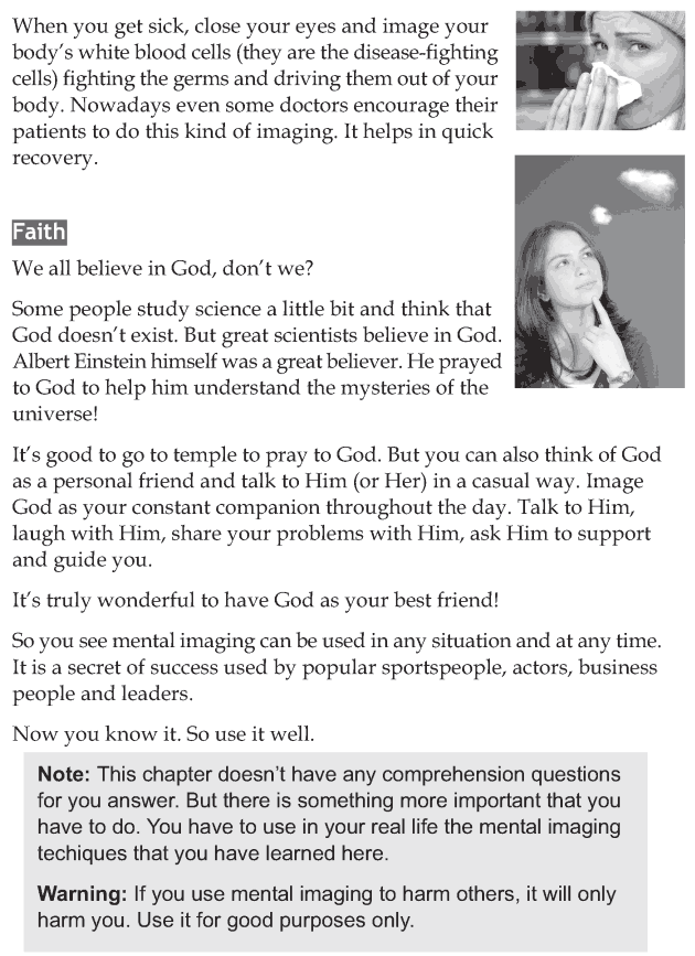 Personality development course grade 7 lesson 15 Mental imaging (8)