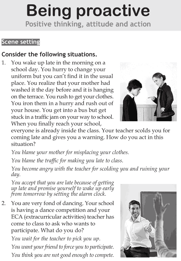 Personality development course grade 7 lesson 2 Being proactive (1)