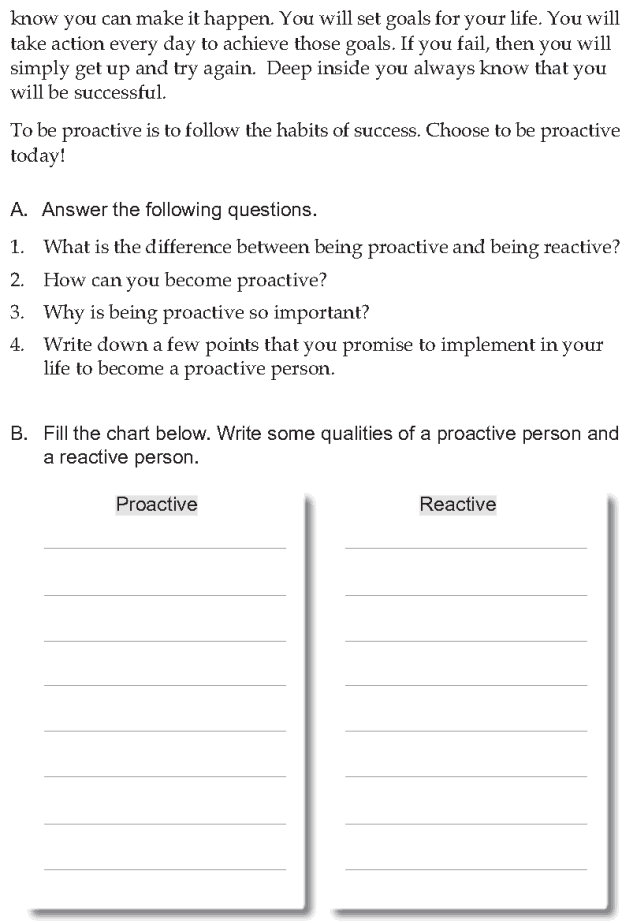 Personality development course grade 7 lesson 2 Being proactive (5)