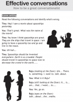 Effective conversations