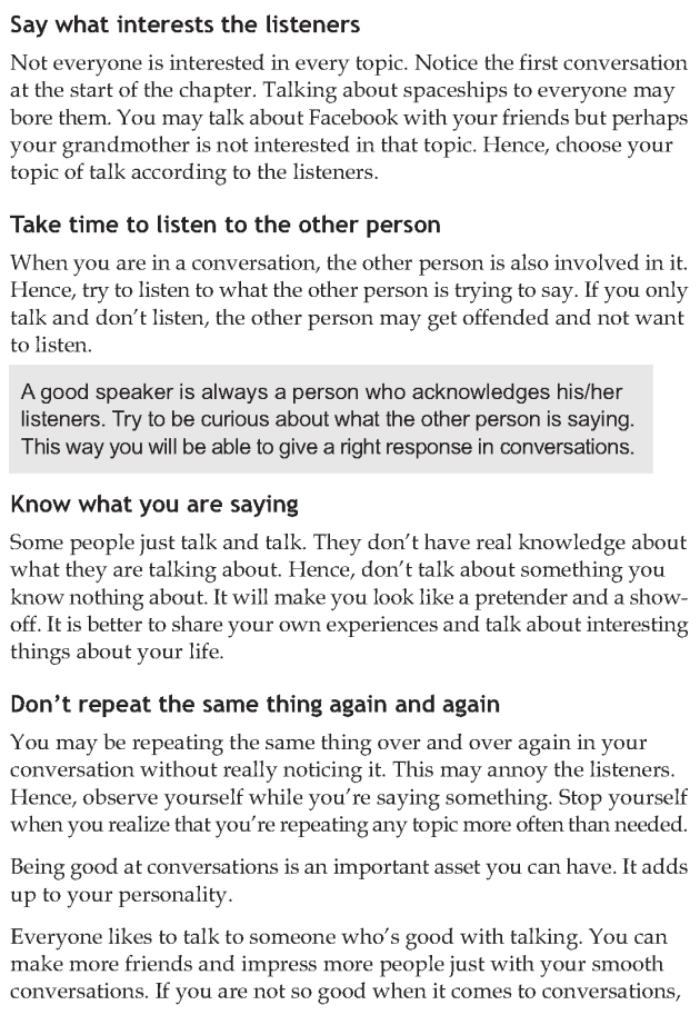 Personality development course grade 7 lesson 4 Effective conversations (4)