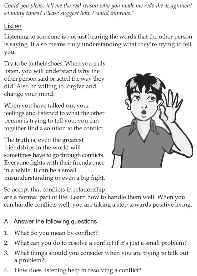 Personality development course grade 7 lesson 6 Managing conflicts (4)