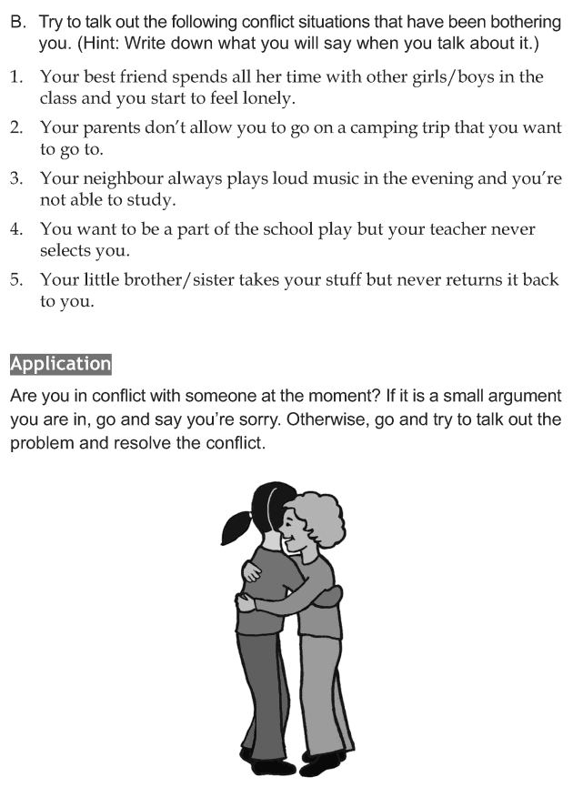 Personality development course grade 7 lesson 6 Managing conflicts (5)