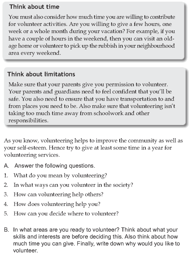 Personality development course grade 7 lesson 7 Volunteering (5)