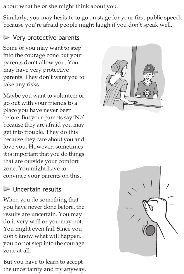 Personality development course grade 7 lesson 8 Step into the courage zone (4)
