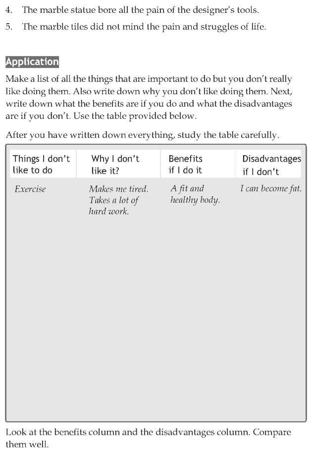 Personality development course grade 8 lesson 11 The marble tiles (4)