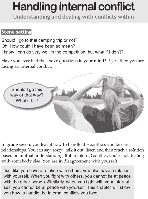 Personality development course grade 8 lesson 13 Handling internal conflict (1)
