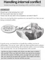 Handling internal conflict