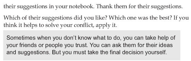 Personality development course grade 8 lesson 13 Handling internal conflict (6)