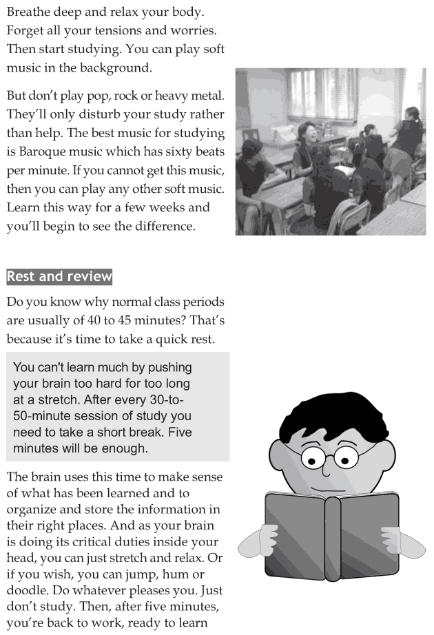 Personality development course grade 8 lesson 14 Smart study skills (6)