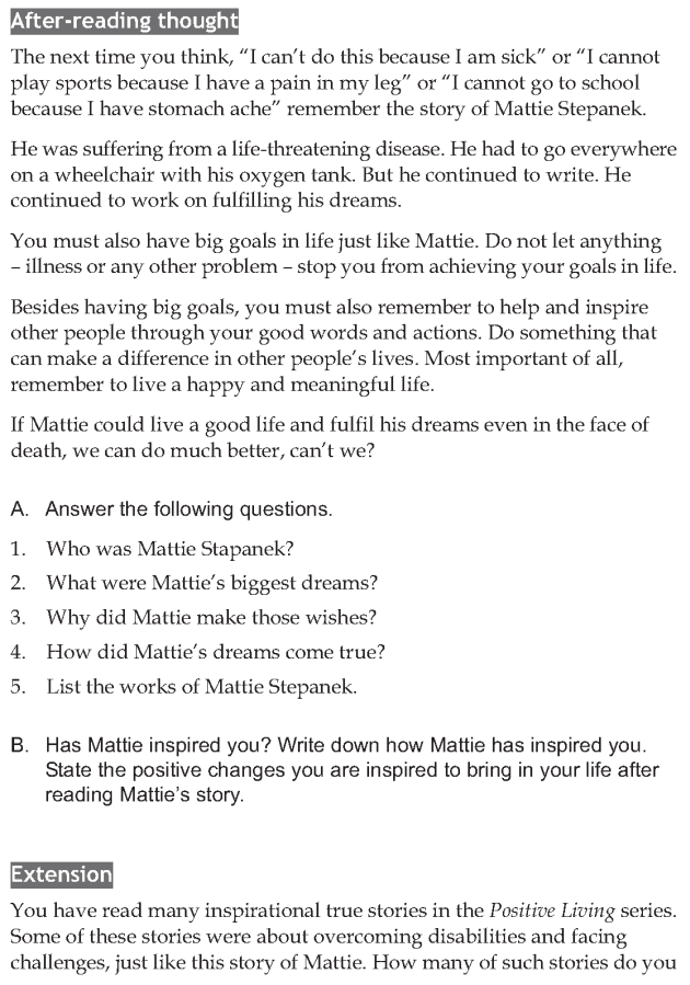 Personality development course grade 8 lesson 2 Mattie Stepanek (4)