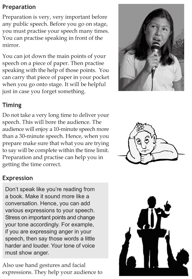 Personality development course grade 8 lesson 5 Effective public speaking (4)