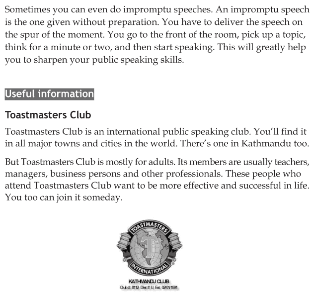 Personality development course grade 8 lesson 5 Effective public speaking (7)