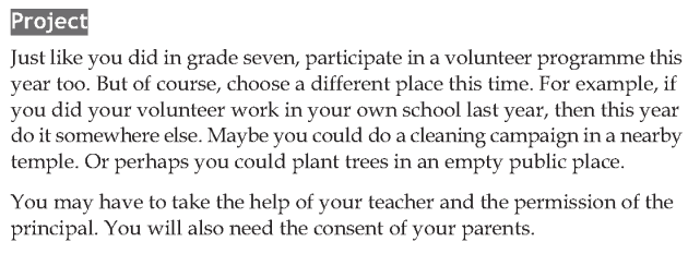 Personality development course grade 8 lesson 6 How to be a good volunteer (4)